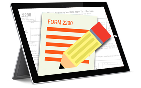 Form 2290 Amendments Return for Form 2290 E-Filing