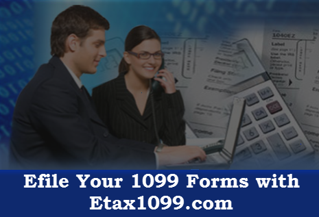 how to efile form 1099