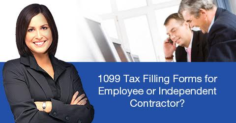 1099 Tax Forms for the Independent Contractors - Forms that Need to be Used while E-Filing