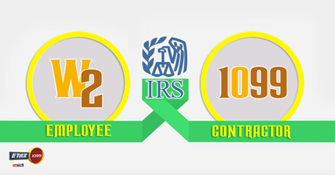 1099 and W2 Form - Independent Contractors Vs Employees