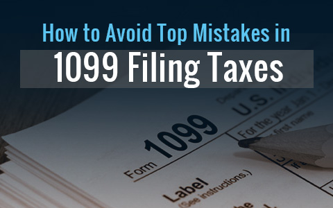 Avoid Major Mistakes When Filing 1099 Form Online