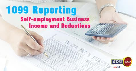 1099 Reporting Self-employment Business Income and Deductions