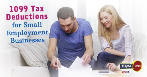 1099 Tax Deductions for Small Employment Businesses